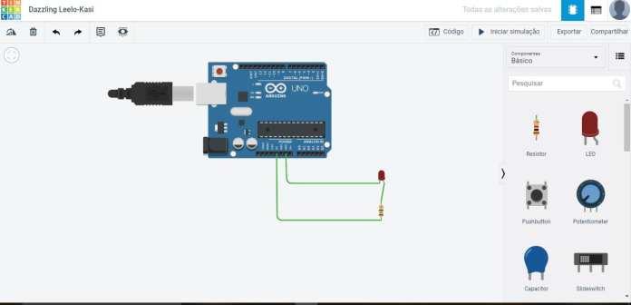 Tinkercad  Tinkercad Arduino: Simule circuitos e desenvolva projetos na plataforma gratuita da Autodesk arduino