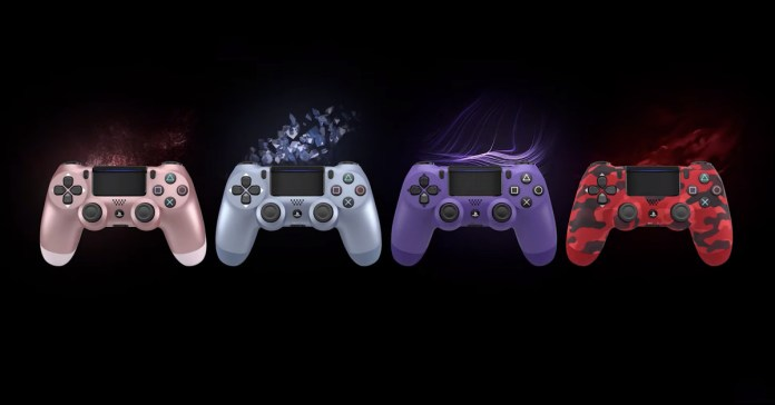 Tecnologia The PS4's DualShock 4 controller is getting some fresh fall colors