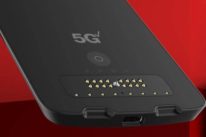 Tecnologia Moto Z2 Force ganha módulo de 5G e indica o fim da linha 'Z'  Smartphones com 5G consomem 20% mais bateria, explica executivo tecnologia moto z2 force ganha modulo de 5g e indica o fim da linha z