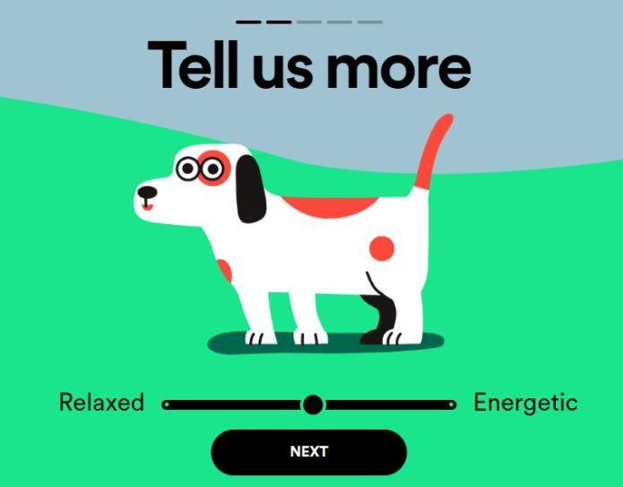 Spotify for Pets  Spotify for Pets: 'Música pra cachorro' com o novo recurso de playlist dedicado aos animais questions
