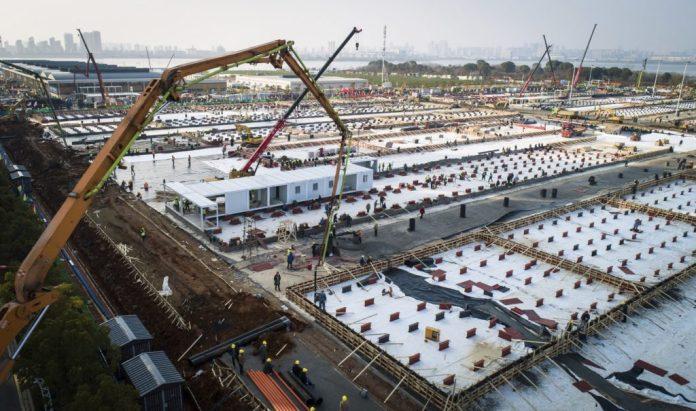 Assim como a China, São Paulo constrói 2000 leitos hospitalares em duas semanas construcao modular container RJ SP CE DF 5 1024x605 1