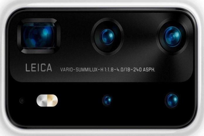 huawei p40 lite e p40 pro  Huawei P40 Lite e P40 Pro têm detalhes de câmera vazados mmm