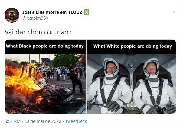Racismo  Gamer que promove conteúdo na Twitch e usa nome 'Xbox' compartilha memes racistas no Twitter print