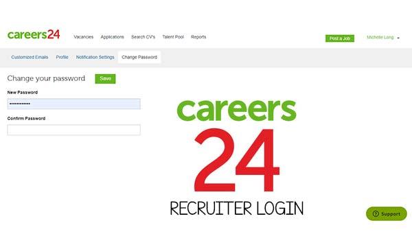 Careers24 Recruiter Login
