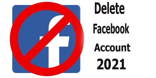 Delete Facebook Account 2021