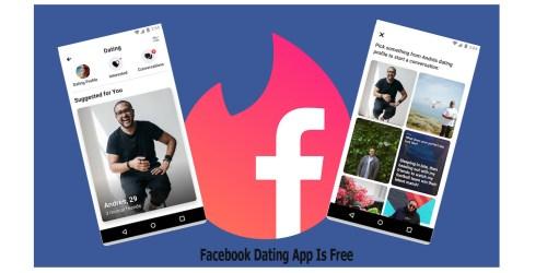 Facebook Dating App Is Free
