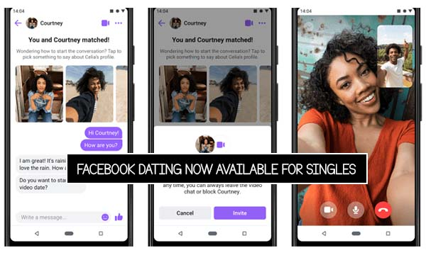 Facebook Dating Now Available For Singles
