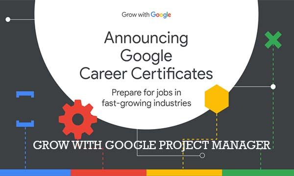 Grow With Google Project Manager