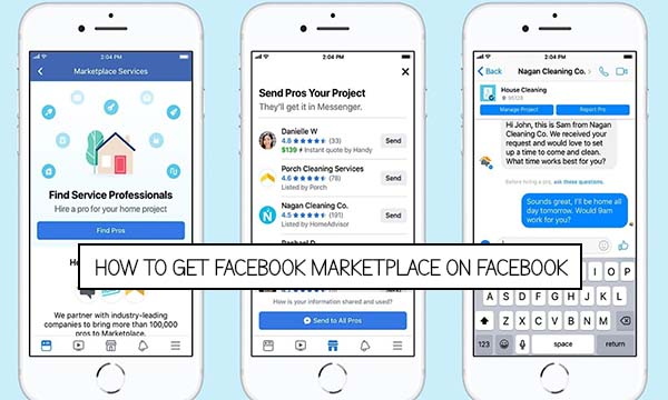 How to get Facebook Marketplace on Facebook