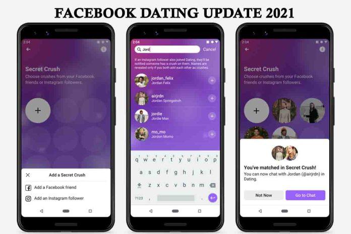 Facebook dating update 2021