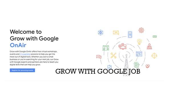 Grow With Google Job