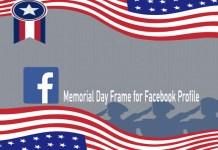 Memorial Day Frame for Facebook Profile - Facebook Profile Photo for Memorial Day | Facebook Profile Photo
