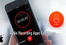 Audio Recording Apps For iPhone - Download the Best iPhone Audio Recording App