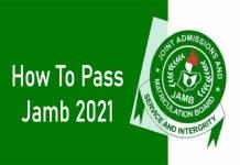 How Can I Pass Jamb 2021 - Hidden Secrets On How You Can Pass JAMB UTME 2021/2022