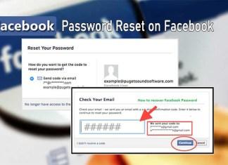 Password Reset on Facebook - Facebook Password | How to Change Your Facebook Password