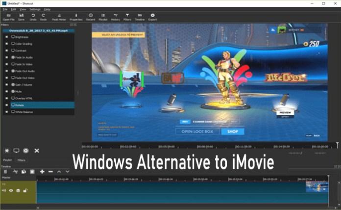 Windows Alternative to iMovie - 5 iMovie Alternatives for Windows You Should Try in 2021