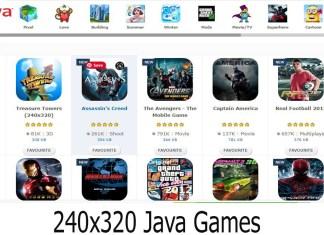 240x320 Java Games