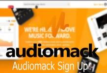 Audiomack Sign Up