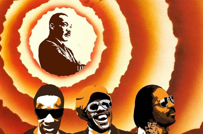 spettacolo teatro torino Stewie Wonder Martin Luther King