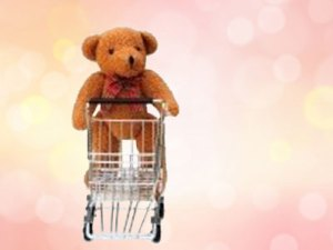 Bäriges Shopping-Vergnügen