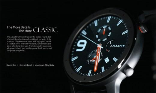 Gearbest discount Amazfit GTR Lite 47mm Smartwatch
