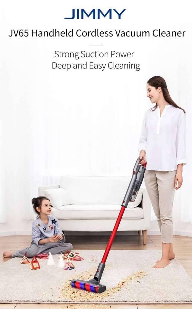 Jimmy JV 65 cordless vacuum cleaner
