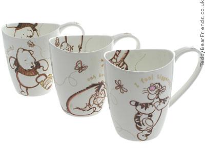 Winnie The Pooh Mug Set | Churchill | Teddy Bear Friends