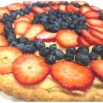 Easy, homemade, buttery shortbread crust for a fruit tart