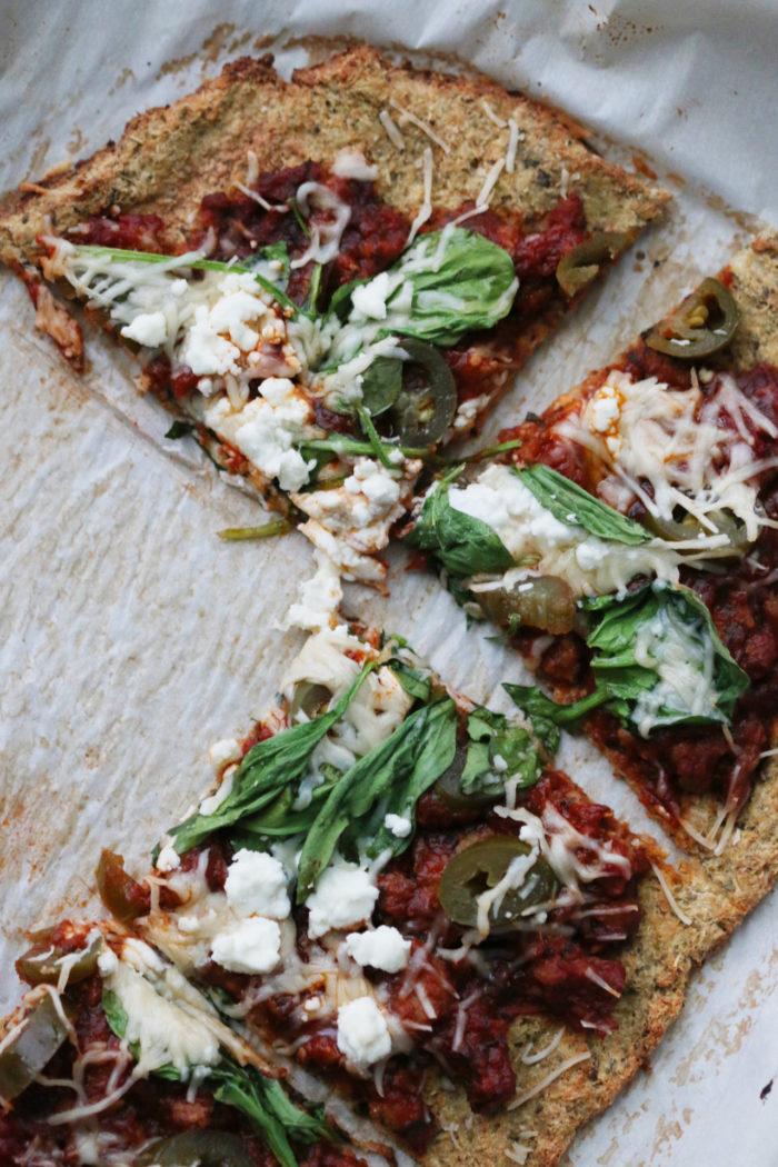 Delicious Cauliflower Pizza Crust