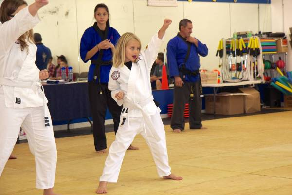 Aly's Yellow Belt Promotion