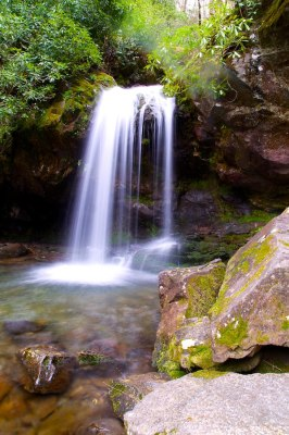 Grotto Falls at GSMNP
