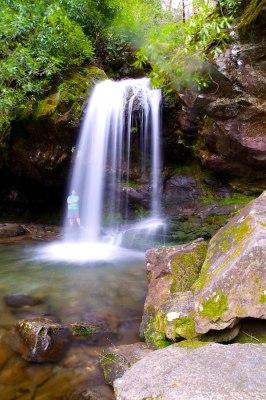 Grotto Falls at GSMNP