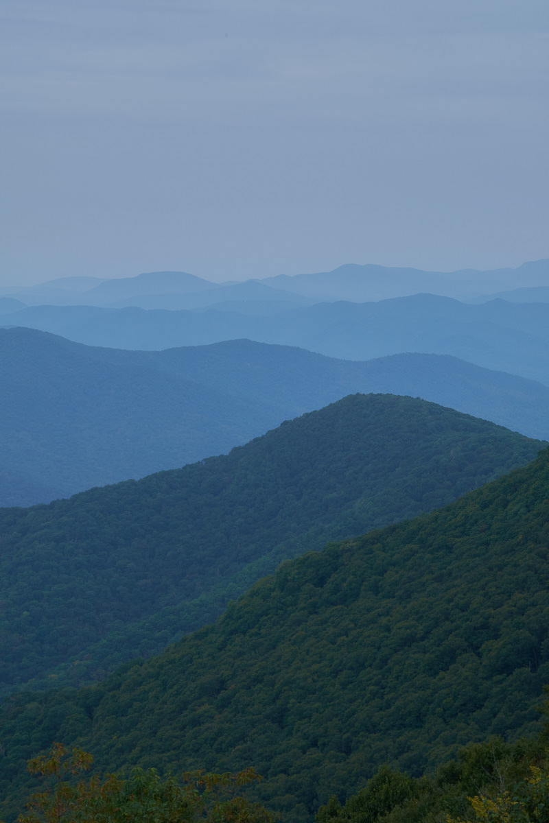 Graybeard Mountain Overlook, Blue Ridge Parkway