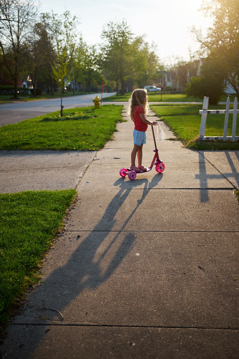 Leah Scootering