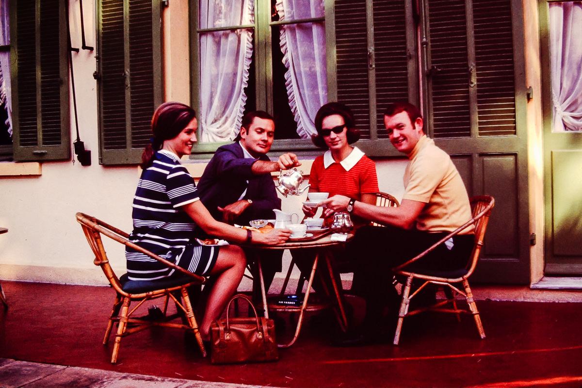 1969: Sandy Dunn, Jim Dunn, Jan, Bill