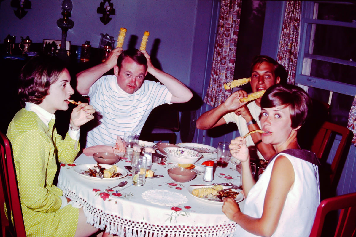 1969: Jan, Bill, Bill R, Joan R