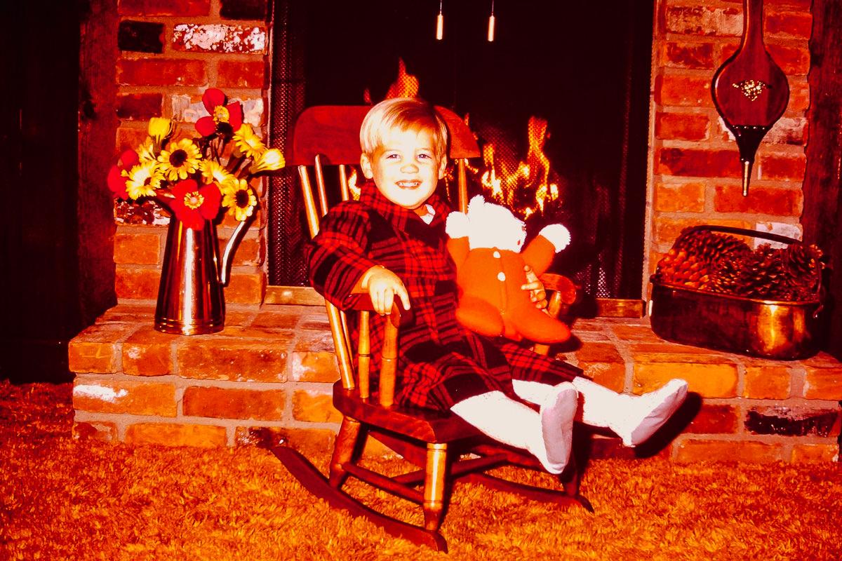 """Christmas 1972: Doug, """"Red Ted"""""""
