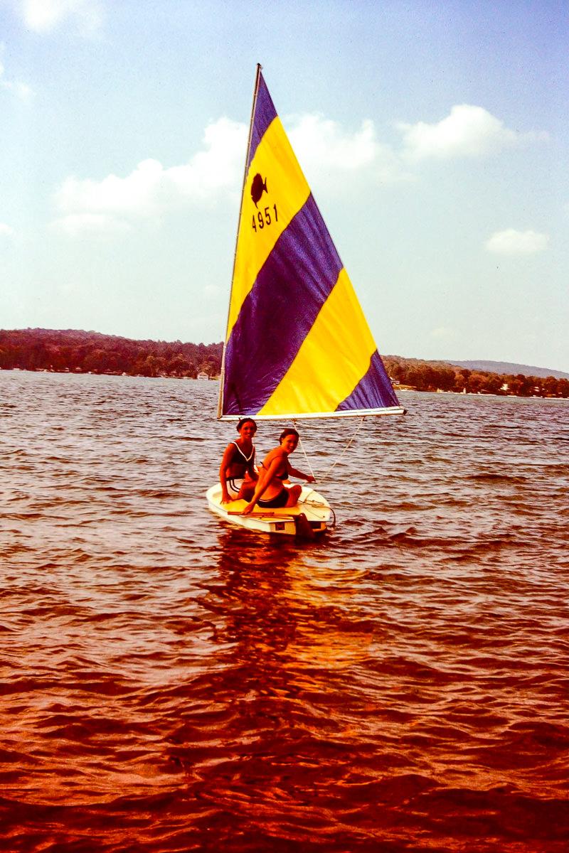 Walloon Lake 1973: Jan, Sandy