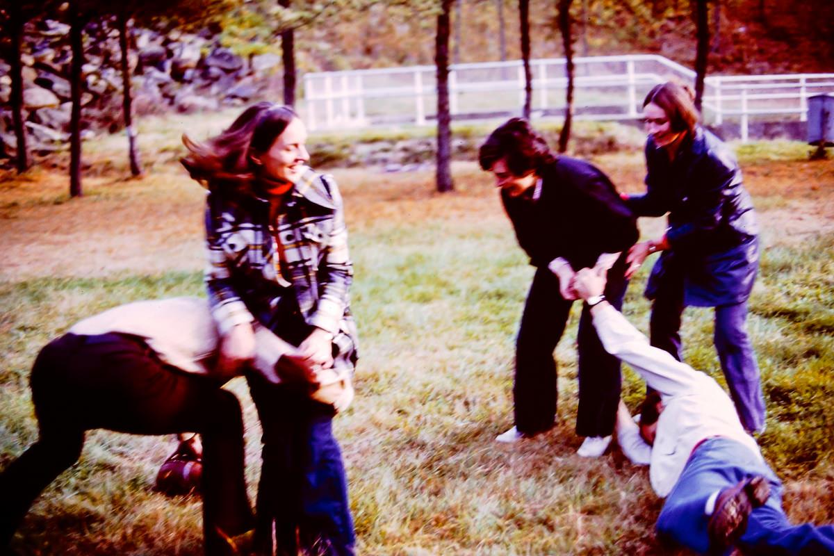 1973: Dick, Jan, Mary Lou, Jim, Sandy
