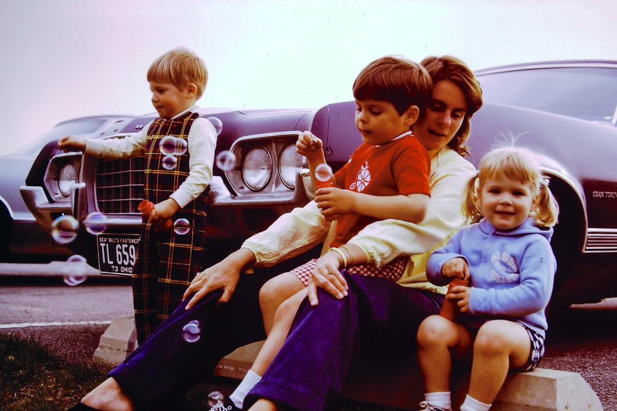 1973: Doug, Dickey, Susie, Jenny