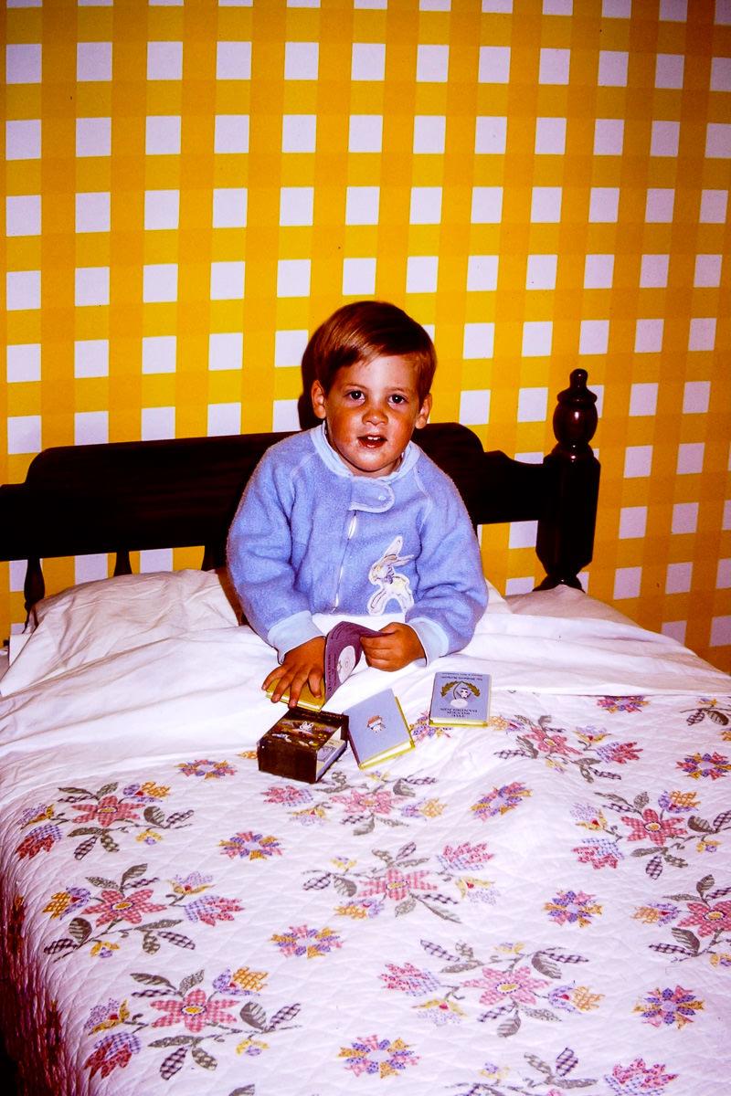 1973: Doug has always been a reader