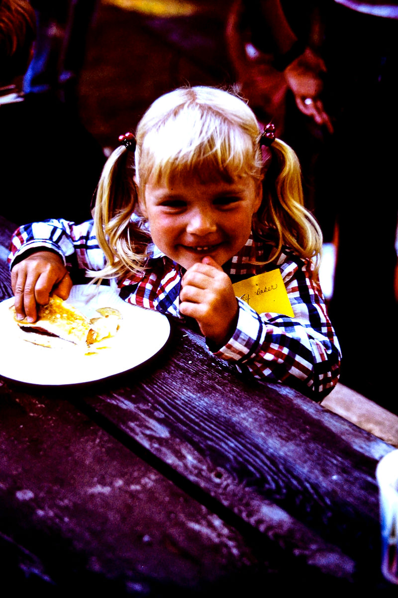 Walloon Lake 1974: Jenny (see, even the name tag says it!)