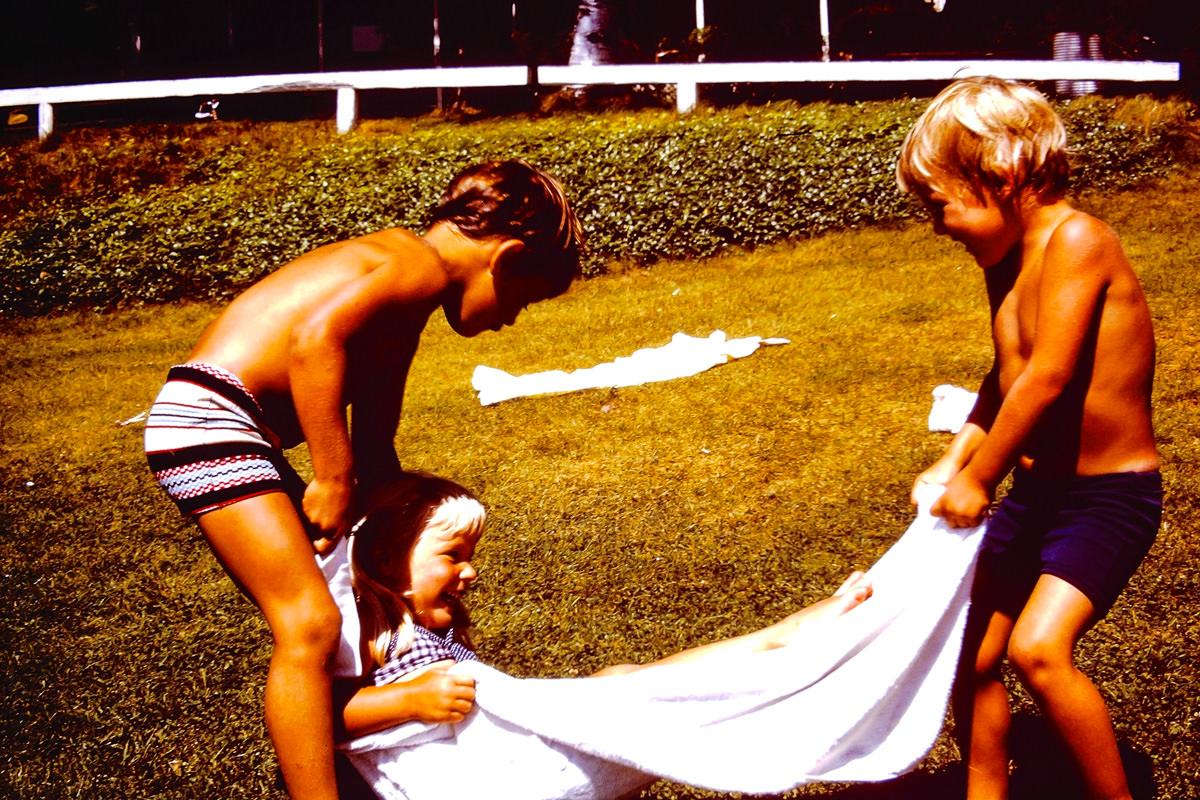 Walloon Lake 1974: Dickey, Jenny, Doug