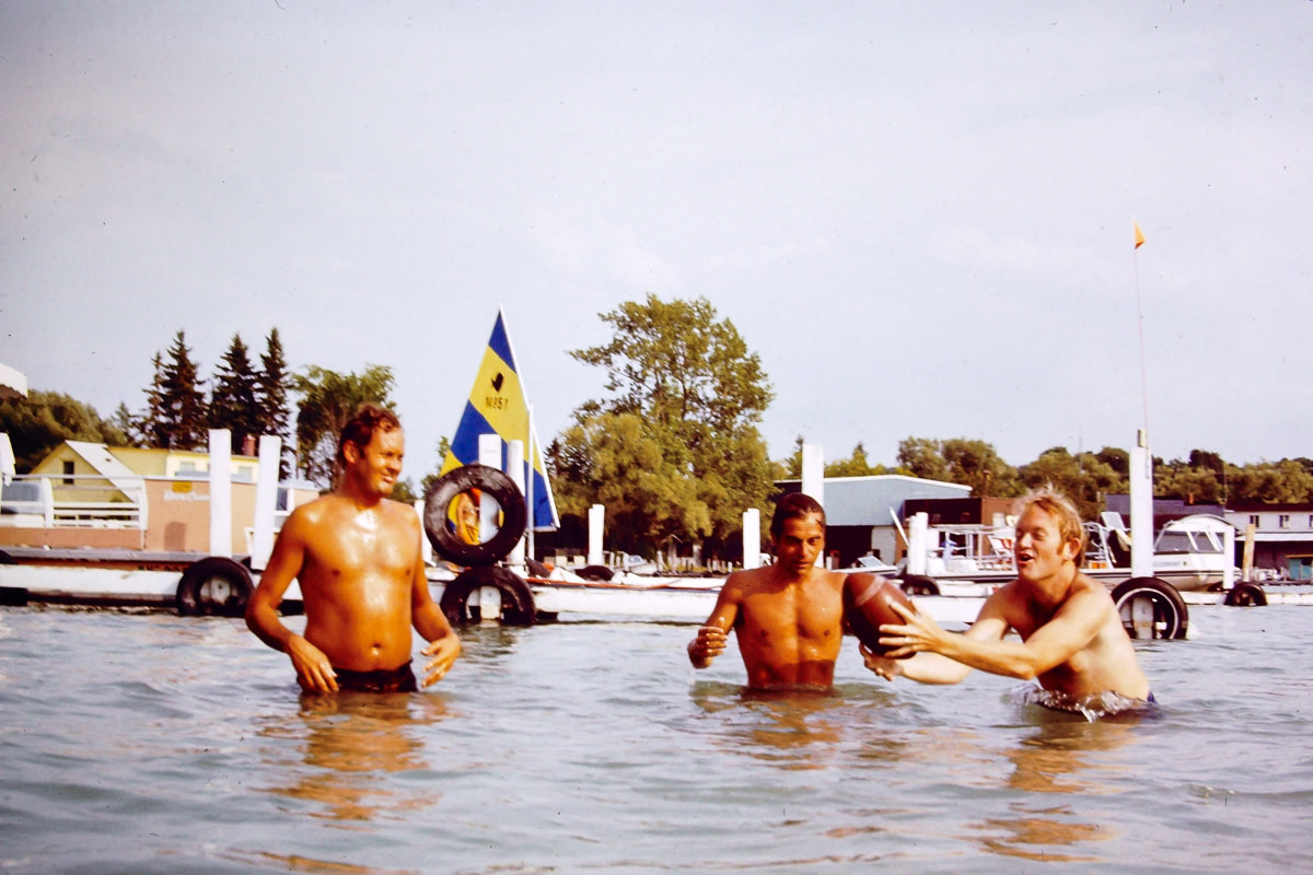 Walloon Lake 1974: Jim, Dick, Bill