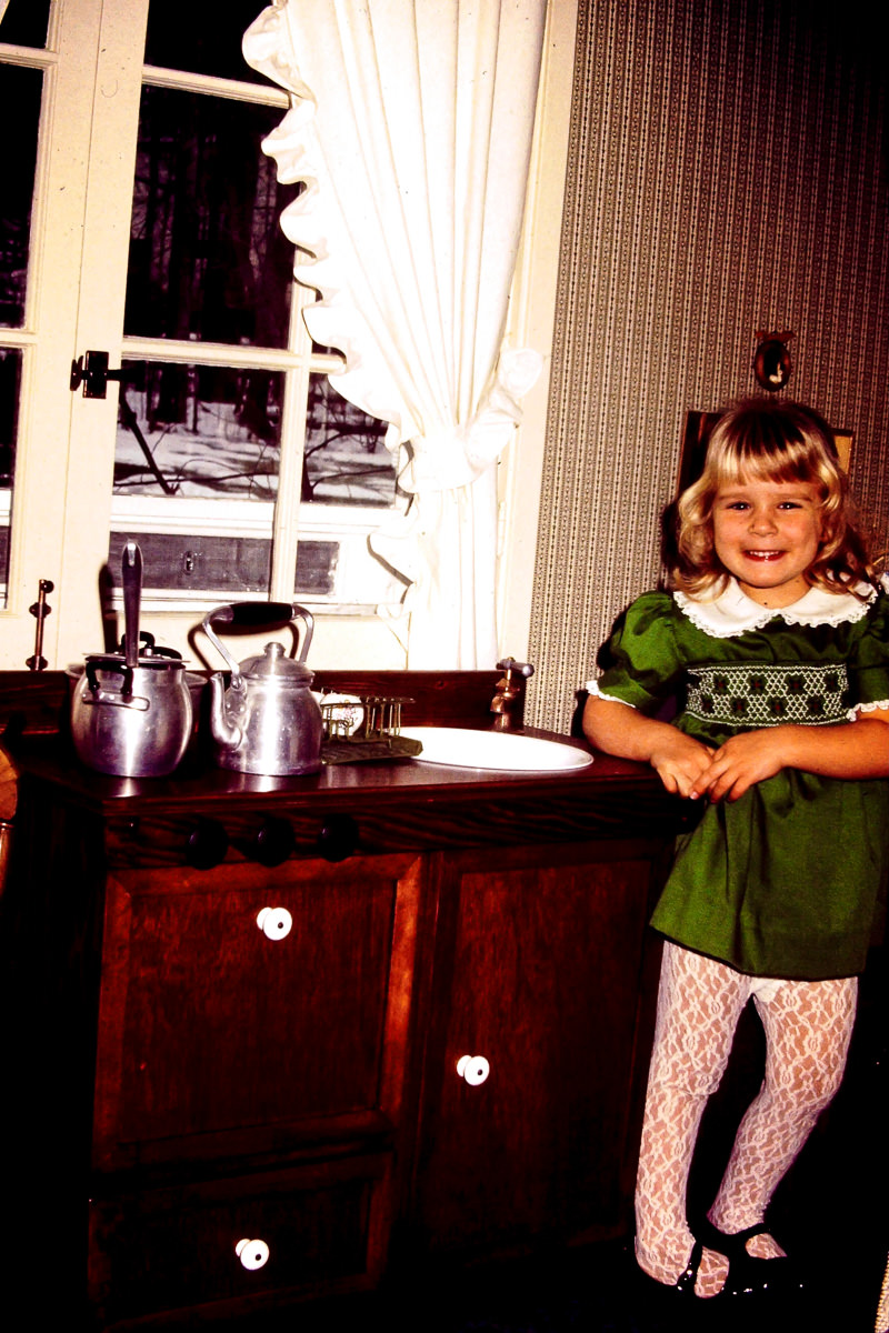 Christmas 1974: cute as heck Jenny