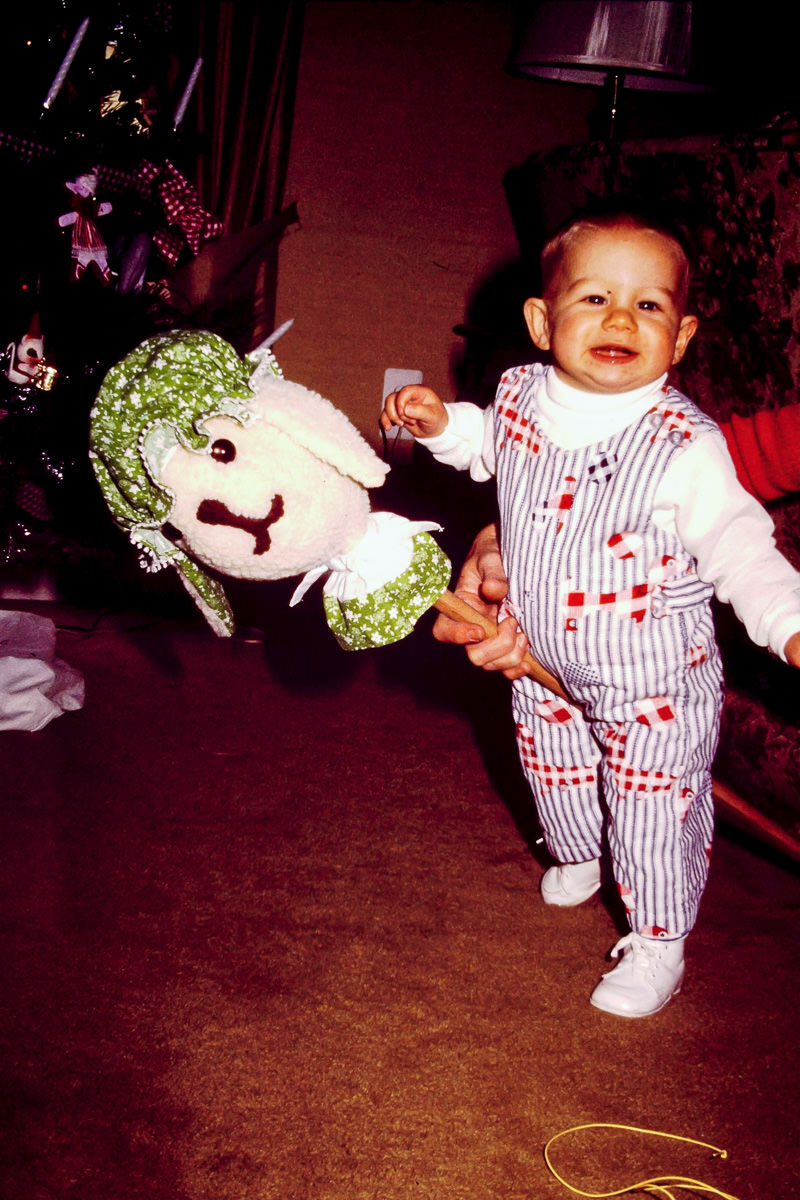 Christmas 1974: Thankfully, no one did this to me Christmas 2015. Don't get any ideas for 2016 either
