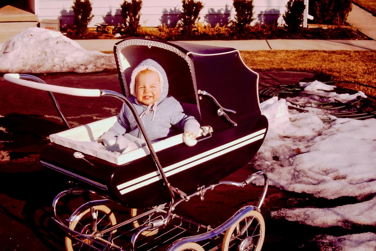Christmas 1974: me