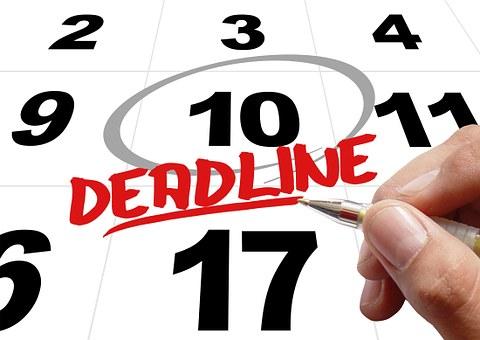 slogan for deadline