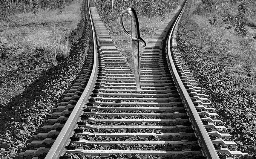 steel railway