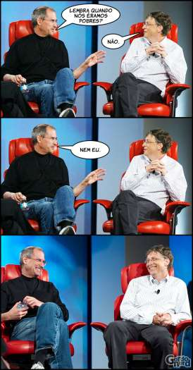 Steve Jobs vs. Bill Gates 8